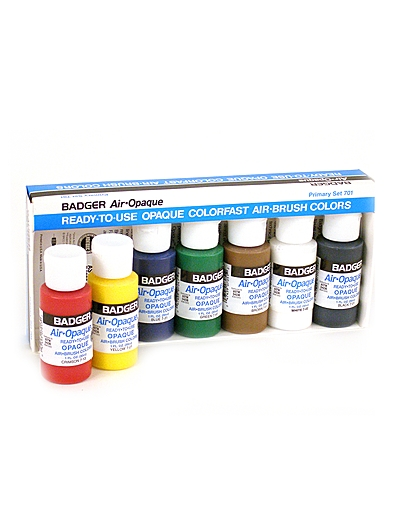 Badger Air-Opaque Airbrush Color Kit