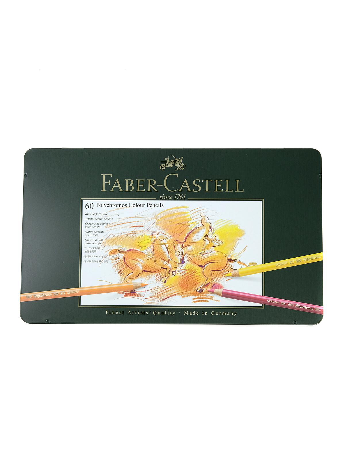 faber castell polychromos colored pencils sets ebay. Black Bedroom Furniture Sets. Home Design Ideas