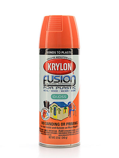 krylon fusion spray paint for plastic ebay. Black Bedroom Furniture Sets. Home Design Ideas