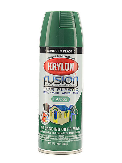 details about krylon fusion spray paint for plastic. Black Bedroom Furniture Sets. Home Design Ideas